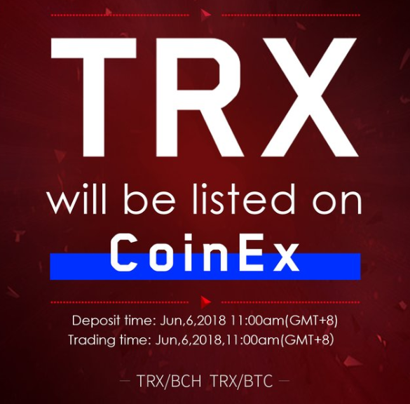 Tron's recent announcement