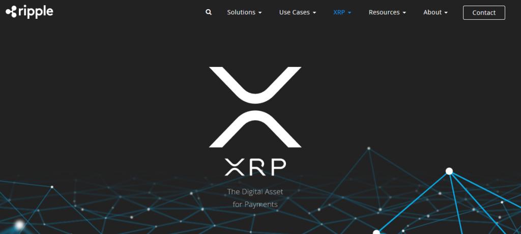 New XRP Logo on Ripple's website