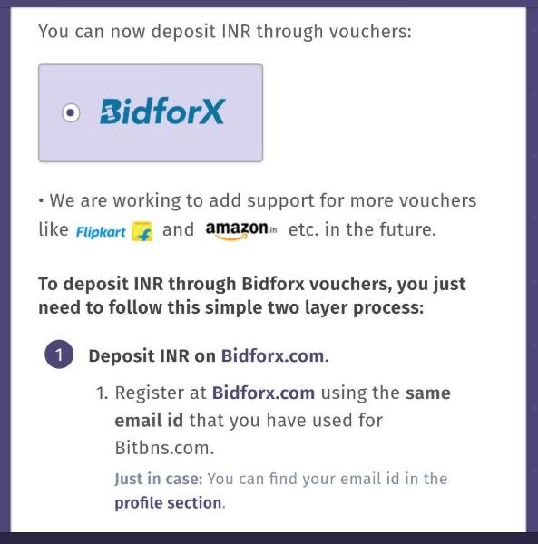 Bitbns BidforX | Source: Twitter