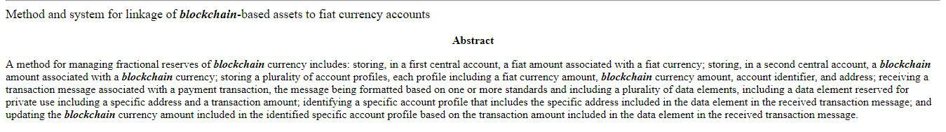 Abstract of the patent acquired by MasterCard || Source: United States Patent and Trademark Office