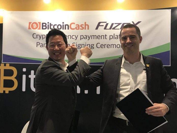 Partnership of FuzeX and Bitcoin.com | Source: Bitcoin.com