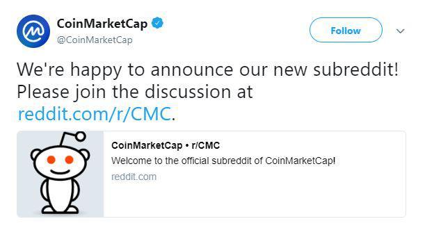 CMC's tweet | Source: Twitter