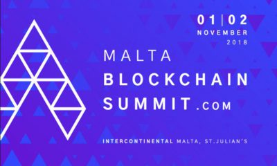 Malta Blockchain Summit 2018 1-2 November: Blockchain Island delivering monumental show in November