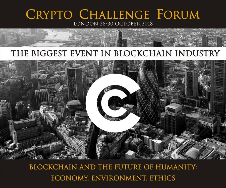 Crypto Challenge Forum - Blockchain and the Future of Humanity: Economy. Environment. Ethics
