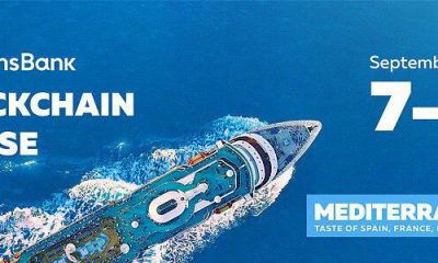 2500 crypto industry representatives sailing through Mediterranean with the Blockchain Cruise