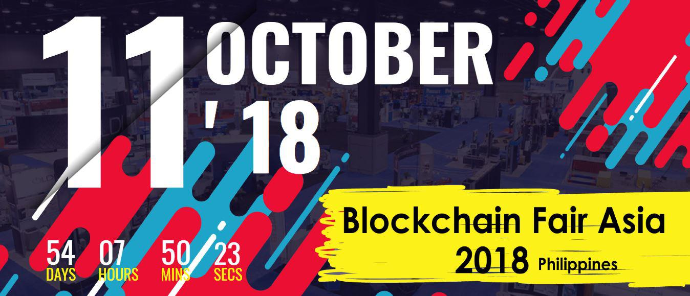 Shaping the Future of Blockchain Technology at Blockchain Fair Asia 2018 (PH edition)