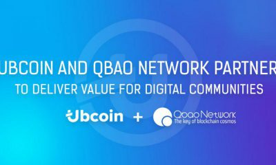 Ubcoin and Qbao Network Partner to Deliver Value for Digital Communities