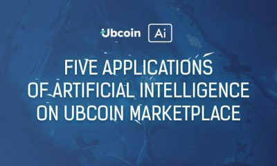 Five applications of artificial intelligence on the Ubcoin marketplace