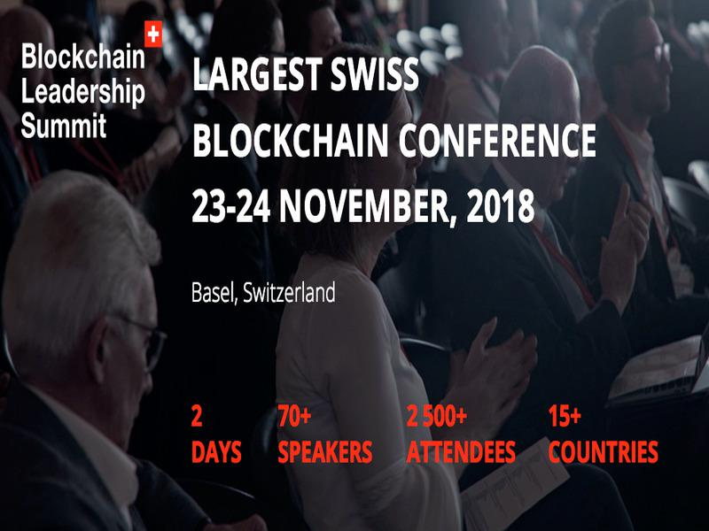 Largest Swiss Blockchain Summit comes back!