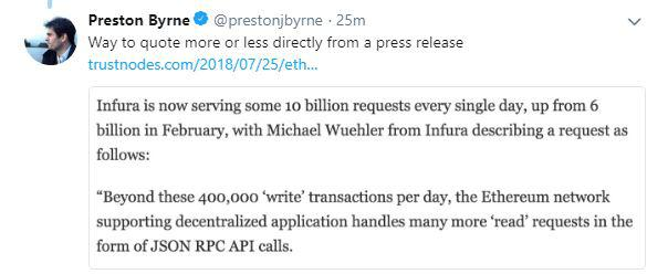 Preston Byrne's tweet | Source: Twitter