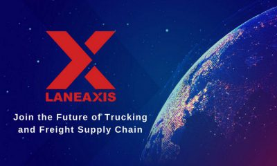 LaneAxis' Patented Blockchain Software Solution Changing the Face of 21st-Century Freight Management