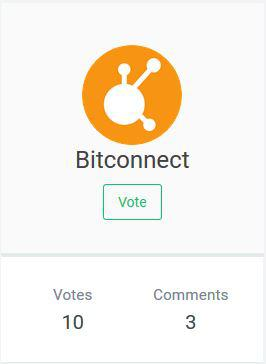 Bitconnect bcc community votes for the token to be listed on an bitconnect voted to be listed on the exchange platform source aiodex stopboris Image collections