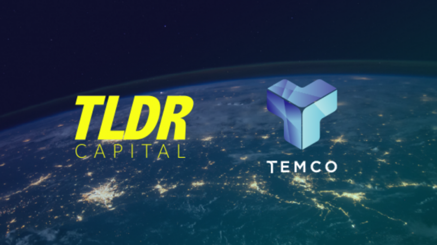 """TEMCO Establishes Partnership with Cryptocurrency Fund and Advisory """"TLDR Capital"""""""