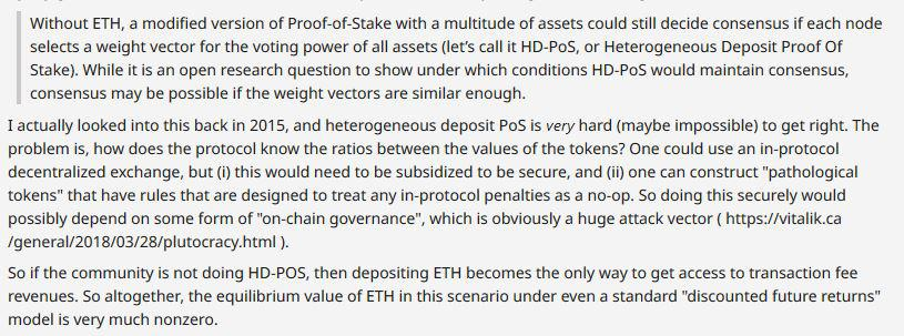 Vitalik Buterin answer on the topic of Test of mail | Source: Reddit