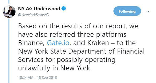 Tweet by Barbara Underwood | Source: Twitter