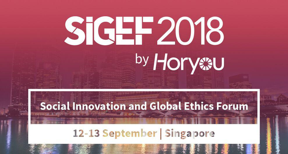 Horyou's 5th Edition of SIGEF in Singapore to Foster Technology for Good and Further UN SDGs