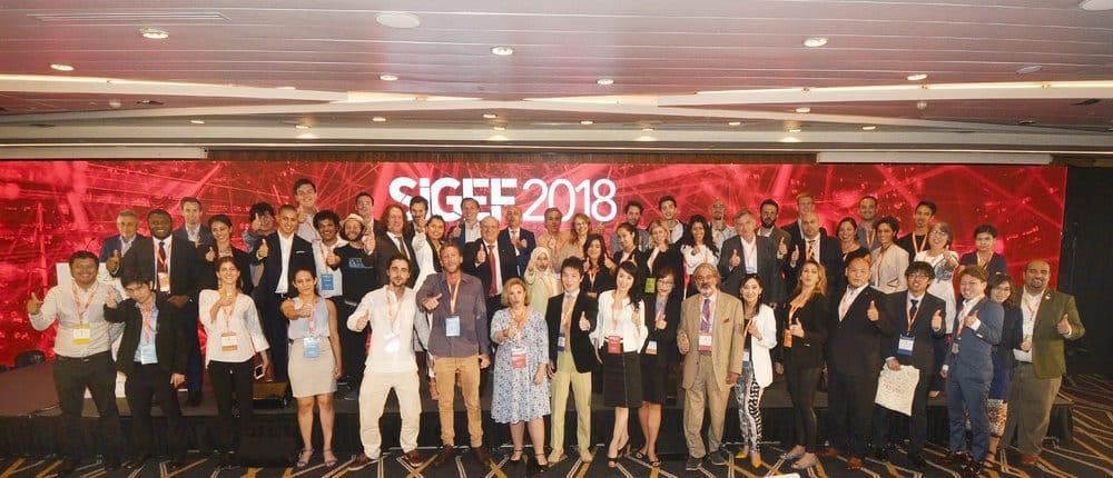 SIGEF 2018 - Horyou aimed high and took its participants right where technology pledges inclusion and sustainability
