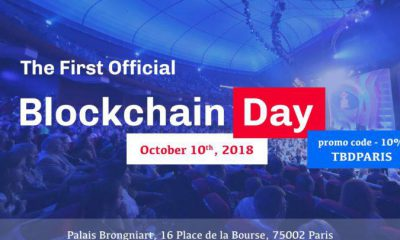 The Blockchain Day 2018 – Paris Paris Welcomes Technological Evolution