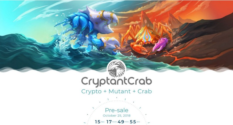 CryptantCrab – First blockchain game from public-listed game company kickstarts pre-sale with bounty