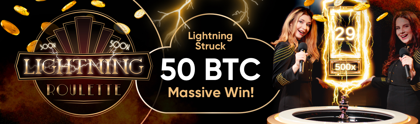 Cloudbet Bitcoin casino player bags nearly 50 BTC in single spin