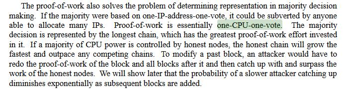 Quote from Bitcoin's whitepaper | Source: Satoshi Nakamoto