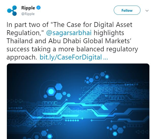 Recent tweet by Ripple | Source: Twitter