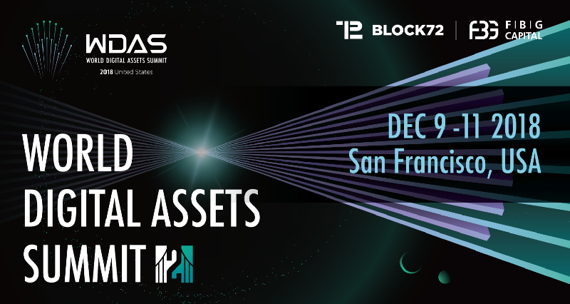 World Digital Asset Summit to debut in the United States: The premiere blockchain event heads to the San Francisco for its second edition