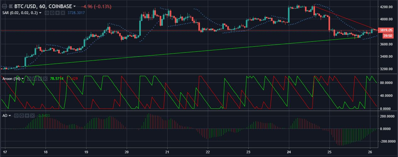 BTCUSD 1 hour candelabras | Source: tradingview