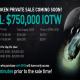 BitMart will start the IEO sale of IOTW