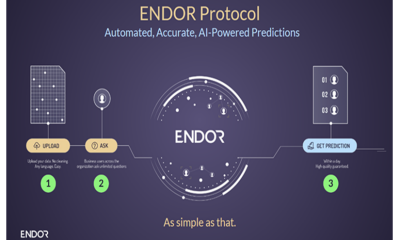 Endor Launches Predictions Protocol to Democratize Access to AI and Data Science