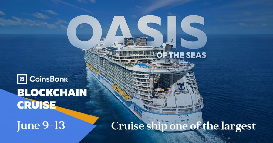 Networking on the vessel: new A-list speakers announced for Coinsbank Blockchain Cruise 2019