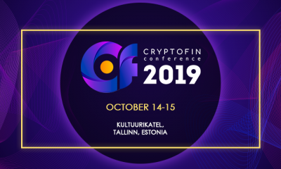 Estonia to host CryptoFin Conference and Expo on 14-15 of October 2019