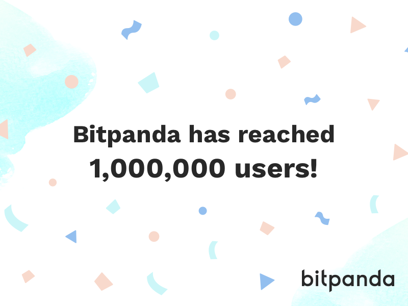 Bitpanda surpasses 1 million users milestone