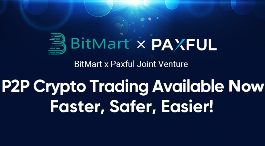 BitMart and Paxful Join Forces on OTC Trading, Move to Enter the Peer-to-Peer Financial Revolution